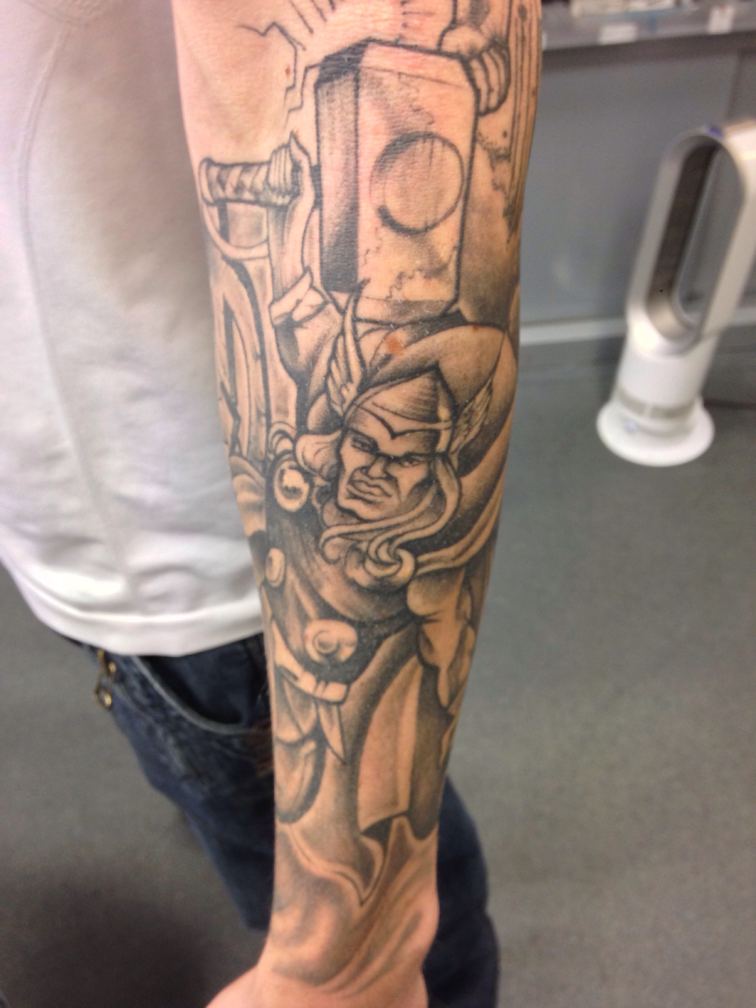 avengers sleeve timeless tattoo glasgow. Black Bedroom Furniture Sets. Home Design Ideas